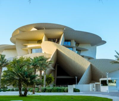 The nature of this newly opened masterpiece of strange architecture was discovered in Qatar (part1)