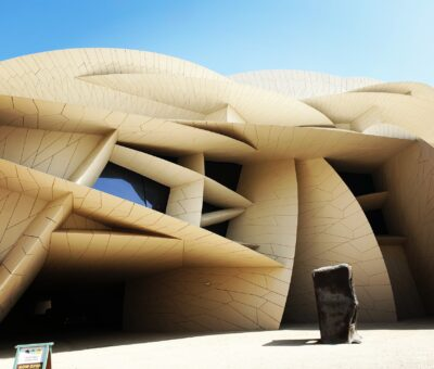 The nature of this newly opened masterpiece of strange architecture was discovered in Qatar (part2)