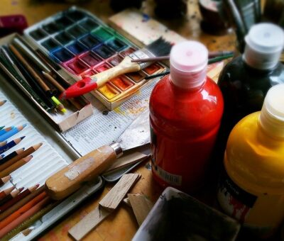 Six easy and simple ways to create artwork and become an artist (part1)