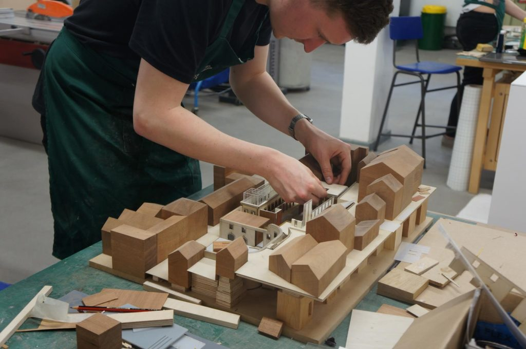 History of Maquette making