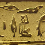 Egyptian material and powder for making sculpture